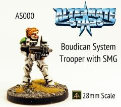 Boudican System Trooper w/SMG