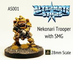Nekonari Trooper w/SMG