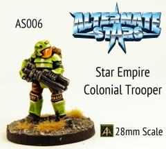 Star Empire Colonial Trooper w/Rifle