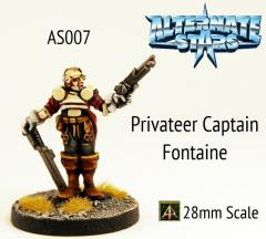 Privateer Captain Fontaine