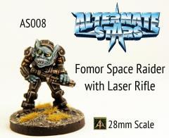 Fomor Space Raider w/Laser Rifle