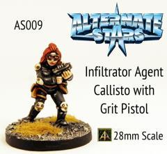 Infiltrator Agent Callisto w/Grit Pistol