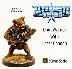 Uhul Warrior w/Laser Cannon
