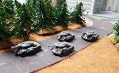 Hunter Medium Tank Section