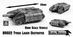 Tyros Laser Destroyer Tank