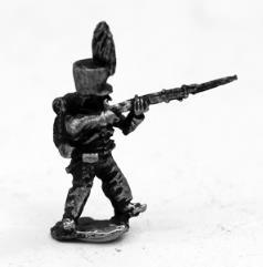 Brunswick Infantry Firing