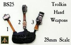 Trolkin Hand Weapons