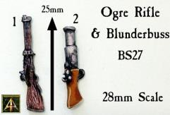 Ogre Rifle and Blunderbuss