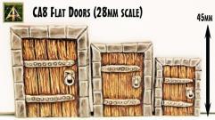 Flat Doors (3 Sizes)