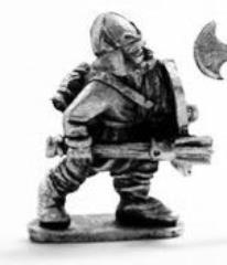 Dwarf Noble w/Shield & Mace