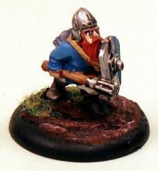 Dwarf Noble w/Shield & Mace