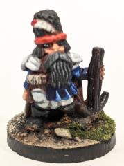 Dwarf in Hat Standing w/Crossbow
