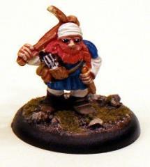 Dwarf w/Crossbow on Shoulder