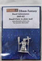 Dwarf Cleric in Plate Mail