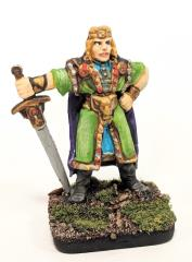 Human Warrior w/Coronet & Sword