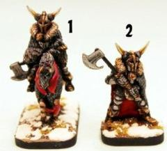 Winter Knight w/Armoured Horse & Winter Knight on Foot