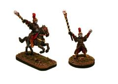 Sorcerer Lord on Foot & Mounted