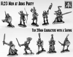 Men at Arms Party