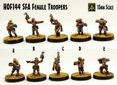 Female Troopers