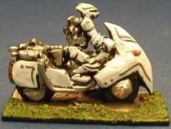 Retained Motorbike