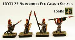 Armored Elf Guard Spear Infantry