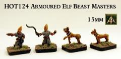 Armored Elf Beast Masters