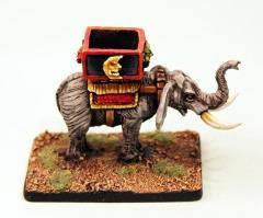 War Elephant with Howdah
