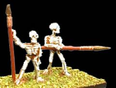 Skeletons w/Spears