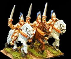 Mounted Elf Knights w/Swords