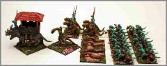 Lizardmen Brethren Army Pack (Pro-Painted)