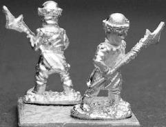 Hussite Wagon Soldier Halberd