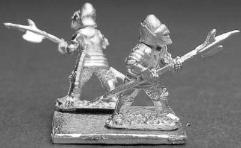 Knight in Bascinet w/Halberd #2