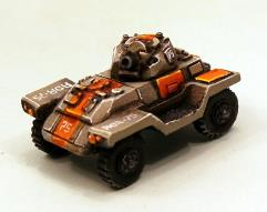 Orange Adder Combat Car