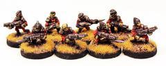 Malig - 1st Tesseran, Juno Rifles