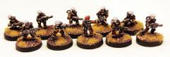 Planetary Militia 1st Squad