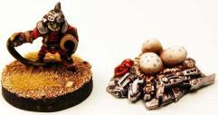 Skrak Malig Rider & Egg Nest