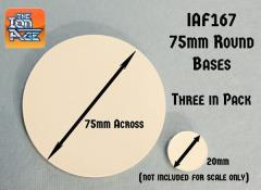 75mm Round Bases