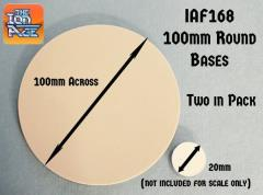100mm Round Bases