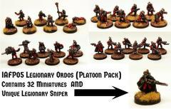 Legionary Ordos Platoon w/Legionary Sniper