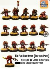 Nox Ordos Platoon Pack w/Nox Officer