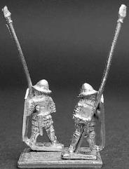 Heavy Infantry Spearman w/Pavise