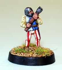 Burgundian w/Handgun
