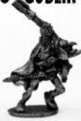 Goblin Running w/Mace & Shield
