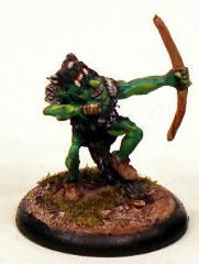 Goblin Capering & Firing Bow