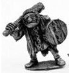 Goblin In Armor w/Club & Shield