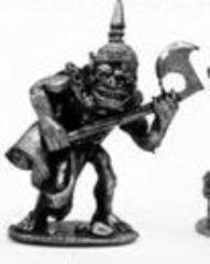 Goblin In Armor w/Axe