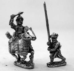 Mounted Turkish Generals & Standard Bearers