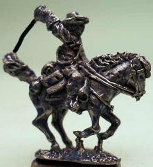 US Cavalry Trooper on Horse