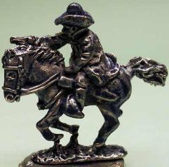 Gunfighter w/Pistol on Horse