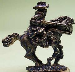 Gunfighter w/Shotgun on Horse